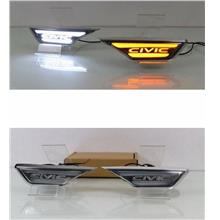 Honda CIVIC '17 Fender LED Side Light Side Turn Signal Light Night DRL