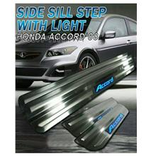 Honda ACCORD '04-07 / '08-12 Door Sill Plate LED