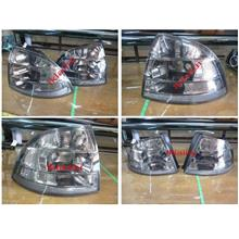 Proton Saga BLM 2008 Crystal Tail Lamp Set Smoke