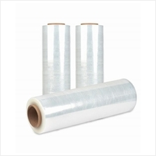 Transparent plastic film stretch film industrial use wrapping(10'x1kg)