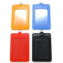 Badge Holder PVC For ID IC Pass Card Driving License Size
