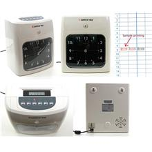Comix Time Recorder Punch Card Machine Analog Display Attendance Recor