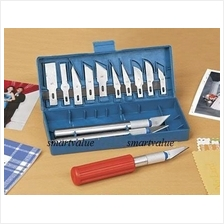 13 Pieces Precision DIY ART CUTTER TOOL / SCALPEL Hobby Knife Set