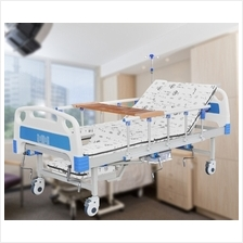 5 Functions Manual Medical Nursing Bed Elderly Care With Toilet