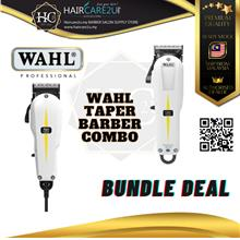 WAHL Combo Super Taper 8466 Clipper & Sterling 2 Trimmer