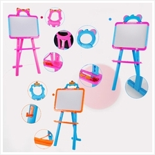 Children Two Sided Board Magnetic White Board Chalk Board And Easel