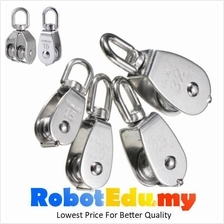 M15-50 Stainless Steel 1-2 Ways Wire Rope Pulley Bearing Lifting Block