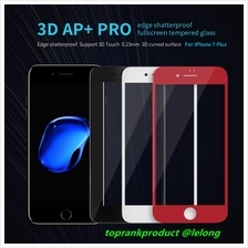 Nillkin iPhone 7 / Plus 3D AP+PRO Edge 9H Full Cover Tempered Glass