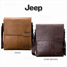 JEEP BULUO High Quality PU Leather Sling bag Men's Shoulder Bags Beg