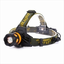 DC 5V 20W 2000LM 3 MODES RECHARGEABLE LED FOCUS HEADLAMP FISHING LIGHT