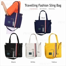 Korean Canvas Tote Bag 33 Casual Handbag Grocery Shoulder Sling Travel