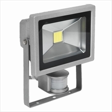 Sealey Floodlight with Wall Bracket & PIR Sensor 130 LED 230V