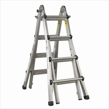 Sealey AFPL3 Adjustable Height Aluminium Telescopic Ladder)