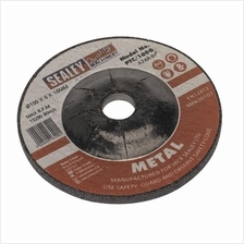 Sealey PTC/100G Grinding Disc 100 x 6 x 16mm Bore