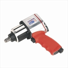 Sealey Air Impact Wrench 1/2'Sq Drive Twin Hammer