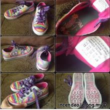 **incendeo** - Authentic SKECHERS Light Up Twinkle Toes Rainbow Shoes)