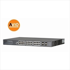 AVIO PFS5424-24T 20 POE + 4 GE Managed Aggregation Switch