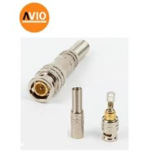 AVIO BNC-SC59 Taiwan High Quality RG59 BNC Connector Spring Male Twist