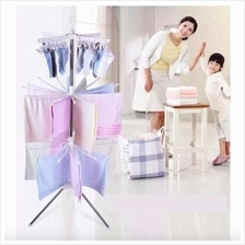 Clothes Hanger 3 Tier Hanger Clothes Laundry Baby Clothes Hanger