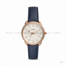 FOSSIL ES4394 Women's Tailor Multifunction Spirographic Leather Navy