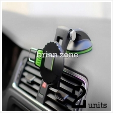 2 units 360 Rotate Osculum Type Phone Car Mount Holder