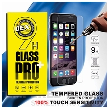 iPhone 4 4S 5 5S 5C SE 6 7 8 Plus Tempered Glass FREE USB Cable