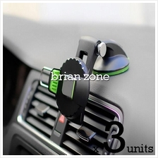 3 units 360 Rotate Osculum Type Phone Car Mount Holder