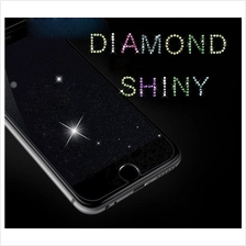 iPhone 5 5S 5C SE 6 7 8 Plus Shinny Diamond Tempered Glass FREE Cable