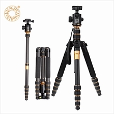 QZSD Q666C 62.2 INCHES CARBON FIBER CAMERA VIDEO TRIPOD MONOPOD WITH Q