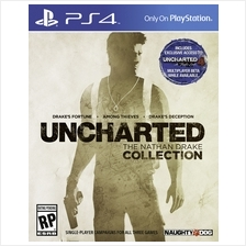 PS4 Uncharted : The Nathan Drake Collection Eng Version r2
