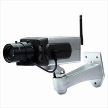 BATTERY POWERED PRACTICAL ECONOMIC DUMMY CCTV SECURITY CAMERA WITH ACT