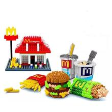 McD Mcdonald 6 In 1 Nanoblock Blocks Toy Collection Games kid
