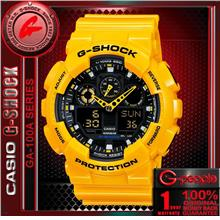 CASIO G-SHOCK GA-100A-9A ANALOG DIGITAL WATCH ☑ORIG