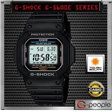 CASIO G-SHOCK G-5600E-1 TOUGH SOLAR WATCH ☑ORIGINAL☑