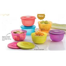 Tupperware Small Round Saver Set (6) 400ml
