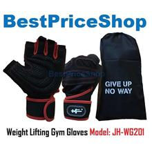 Weight Lifting Gym Gloves Workout Sport Wrist Protect Glove JH-WG201