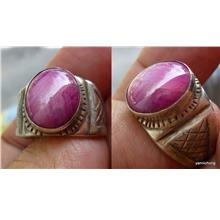 PIGEON BLOOD  RED STAR RUBY RING