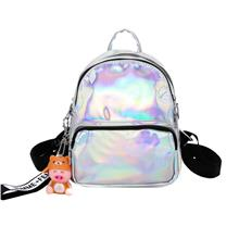 3 Layers Zip Student Outing Laser Style Backpack (3 Colours)