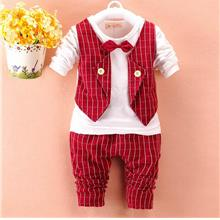 00413 Long Sleeves Vescoat Baby Kids Clothing Set)