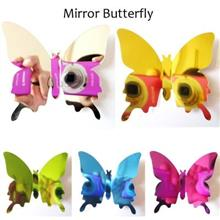 High Quality 12pcs DIY 3D Stereoscopic Mirror Butterfly Wall Stickers