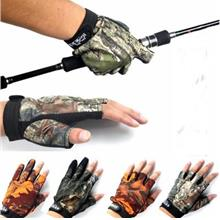 New Outdoor Gloves High Quality Anti-slip Fishing Gloves Breathable