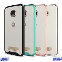 Acrylic Airbag Casing Case Cover for Moto Z2 Play
