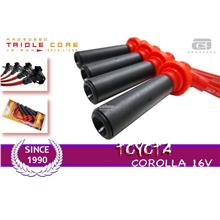 AROSPEED 10.2mm Triple Core Ignition cable TOYOTA COROLLA 16V