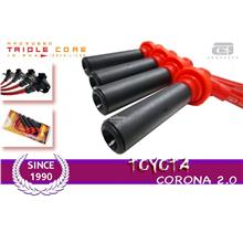 AROSPEED 10.2mm Triple Core Ignition cable TOYOTA CORONA 2.0