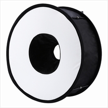 45CM PORTABLE ANNULUS SPEEDLITE STUDIO STROBE FLASH PHOTO REFLECTIVE S