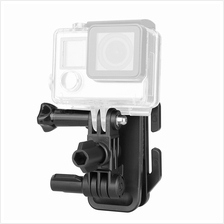 DAZZNE DZ-SG7 UNIVERSAL CLIP HEAD MOUNT KIT FOR ACTION CAMERA (BLACK)