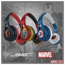 PROMOTION SMS Audio Marvel Super Hero Sport Wired Microlite Headphone