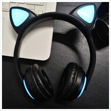 PROMOTION Wireless Cat Ear Bluetooth Headphone Colorful Glare ZW-19