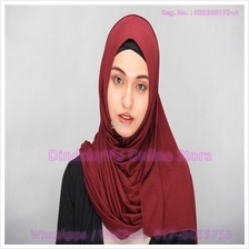[DindabyV] Solid Color Cotton Jersey Shawl / Sacrf / Hijab CQ812D