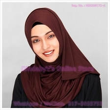 [DindabyV] Solid Color Cotton Jersey Shawl / Sacrf / Hijab CQ812C